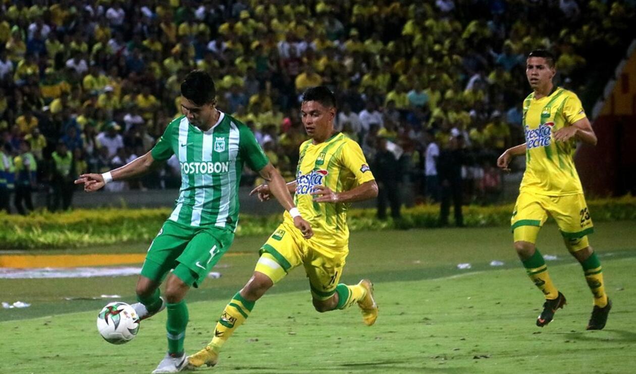 Bucarmanga vs Atlético Nacional - Liga Águila 2019-I Fecha 2