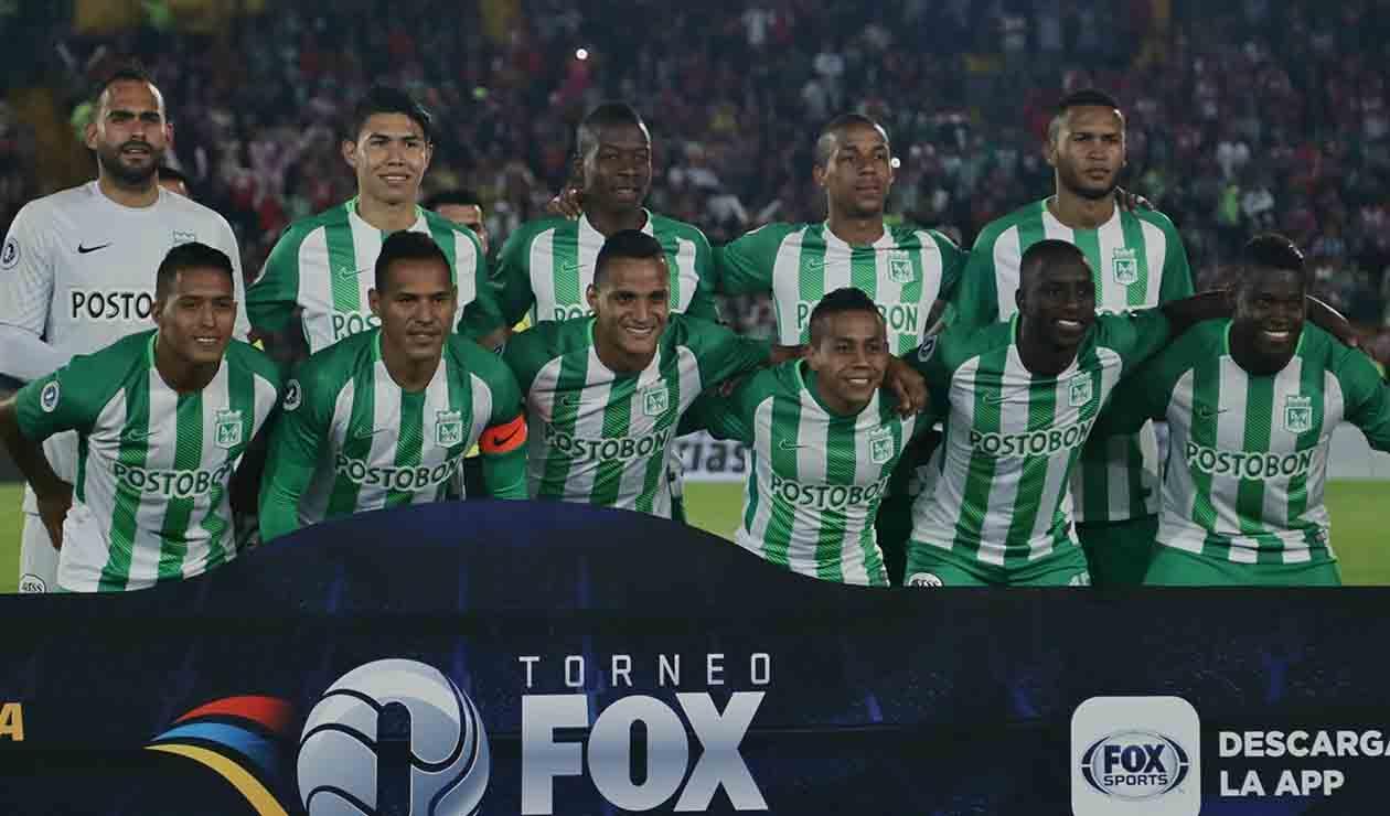 Equipo de Atlético Nacional formado en el Torneo Fox Sports