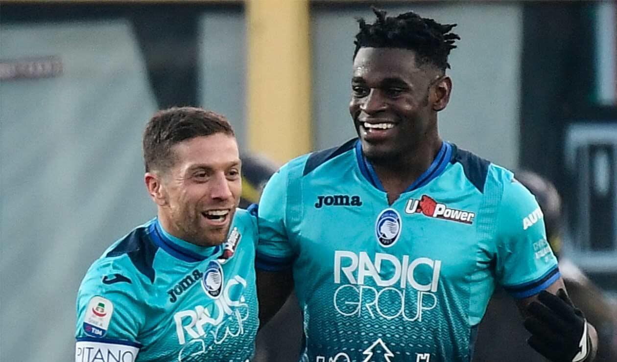 Duván Zapata igualó a Cristiano Ronaldo en la tabla de goleadores del Calcio