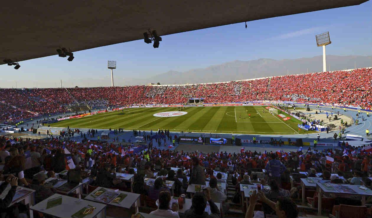 Estadio Nacional de Santiago de Chile