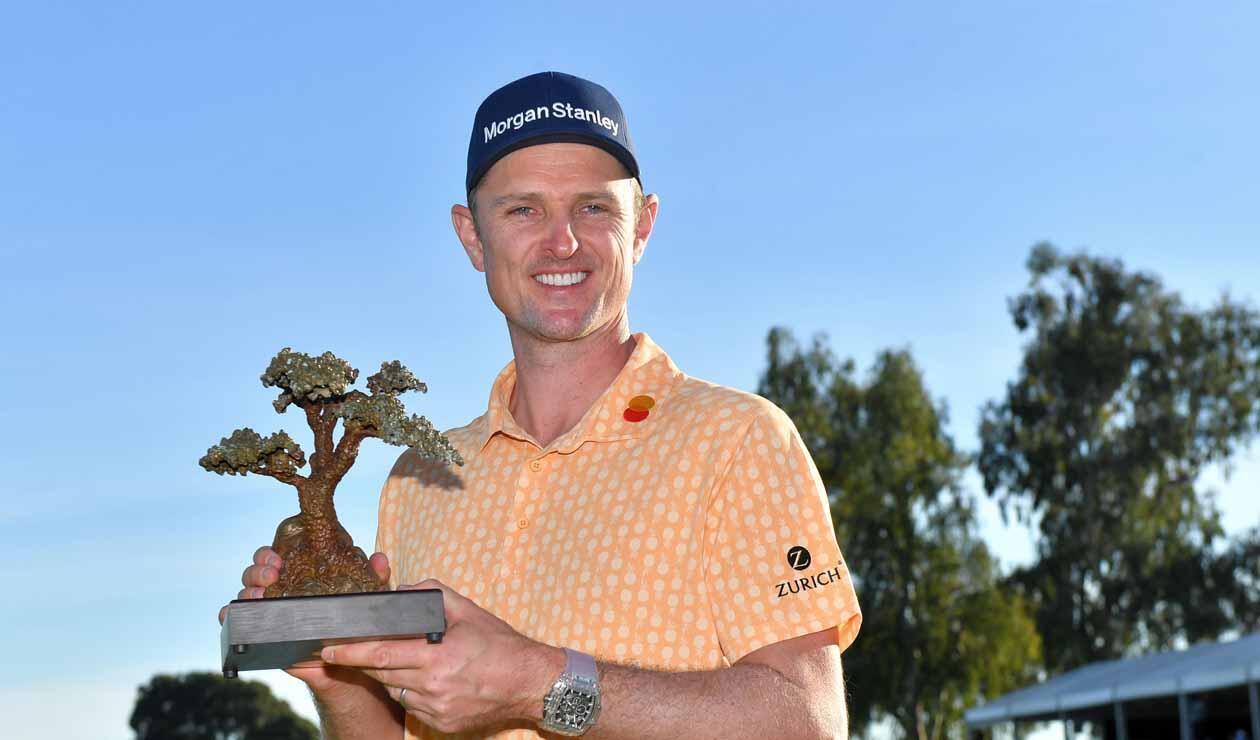 Justin Rose, golfista británico