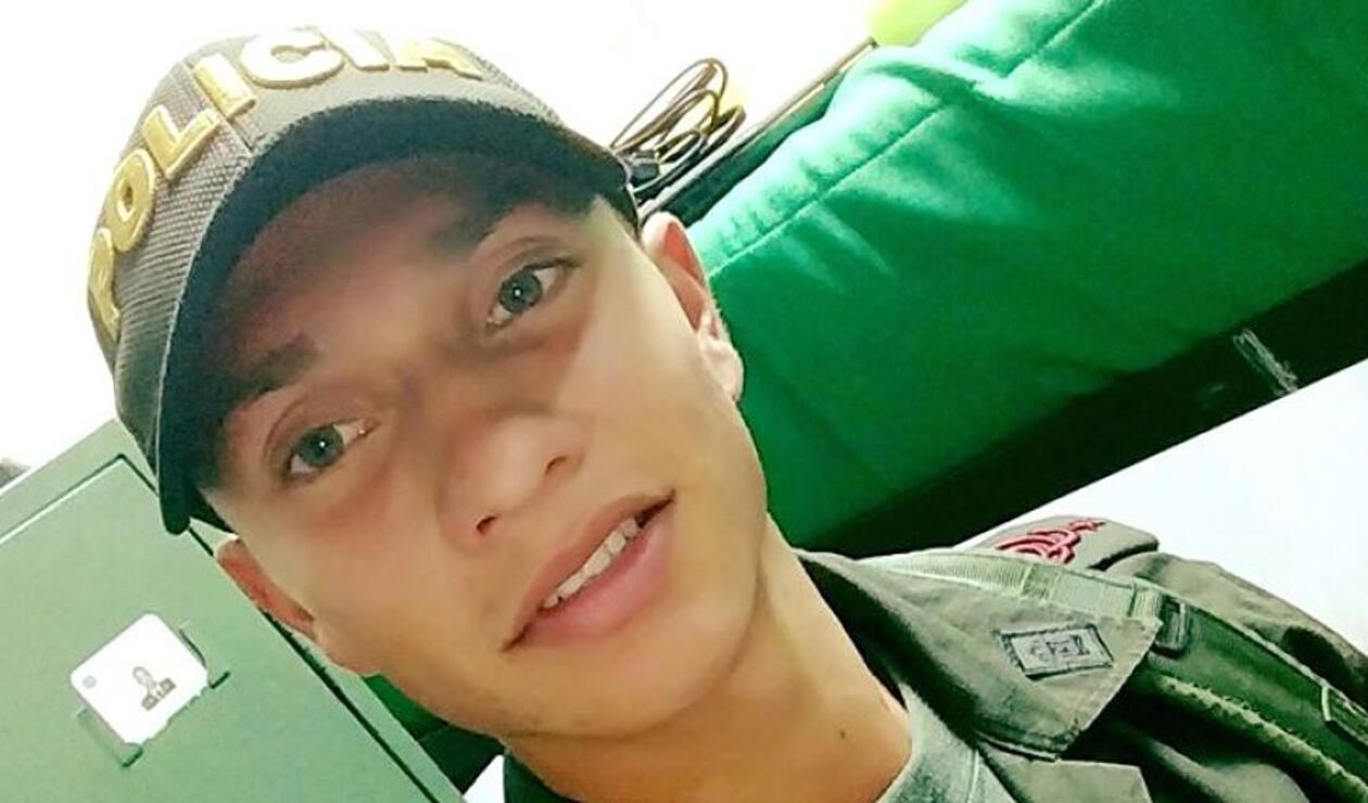 Hallam Bayona, cadete de la Escuela General Santander, víctima del carrobomba en Bogotá