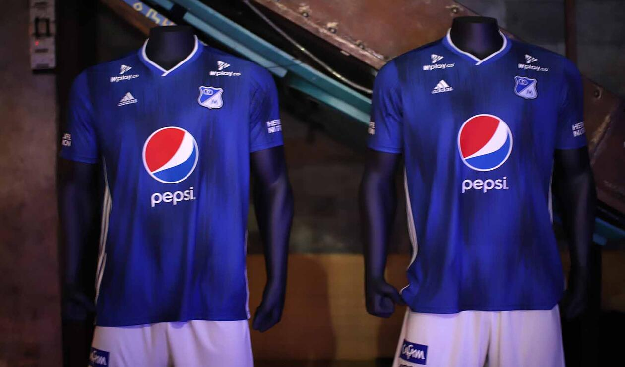 Millonarios - presentación de camiseta 2019