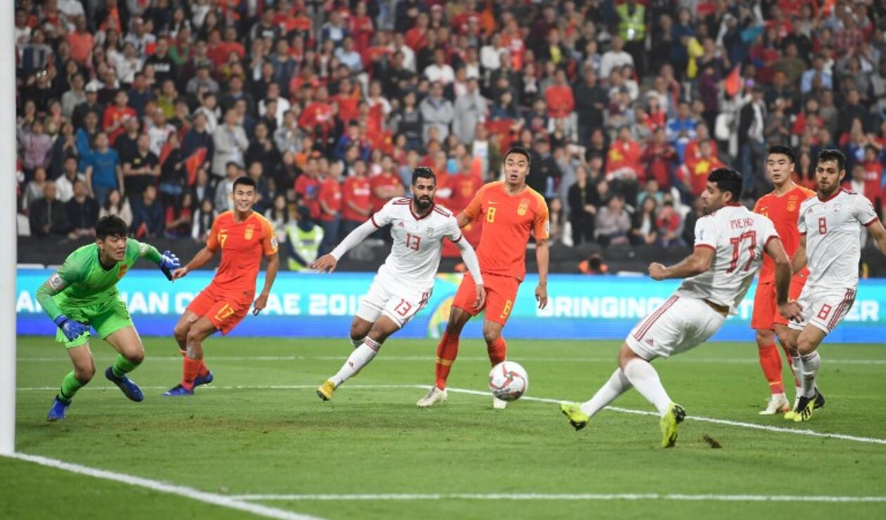 Irán vs China, Copa Asiática