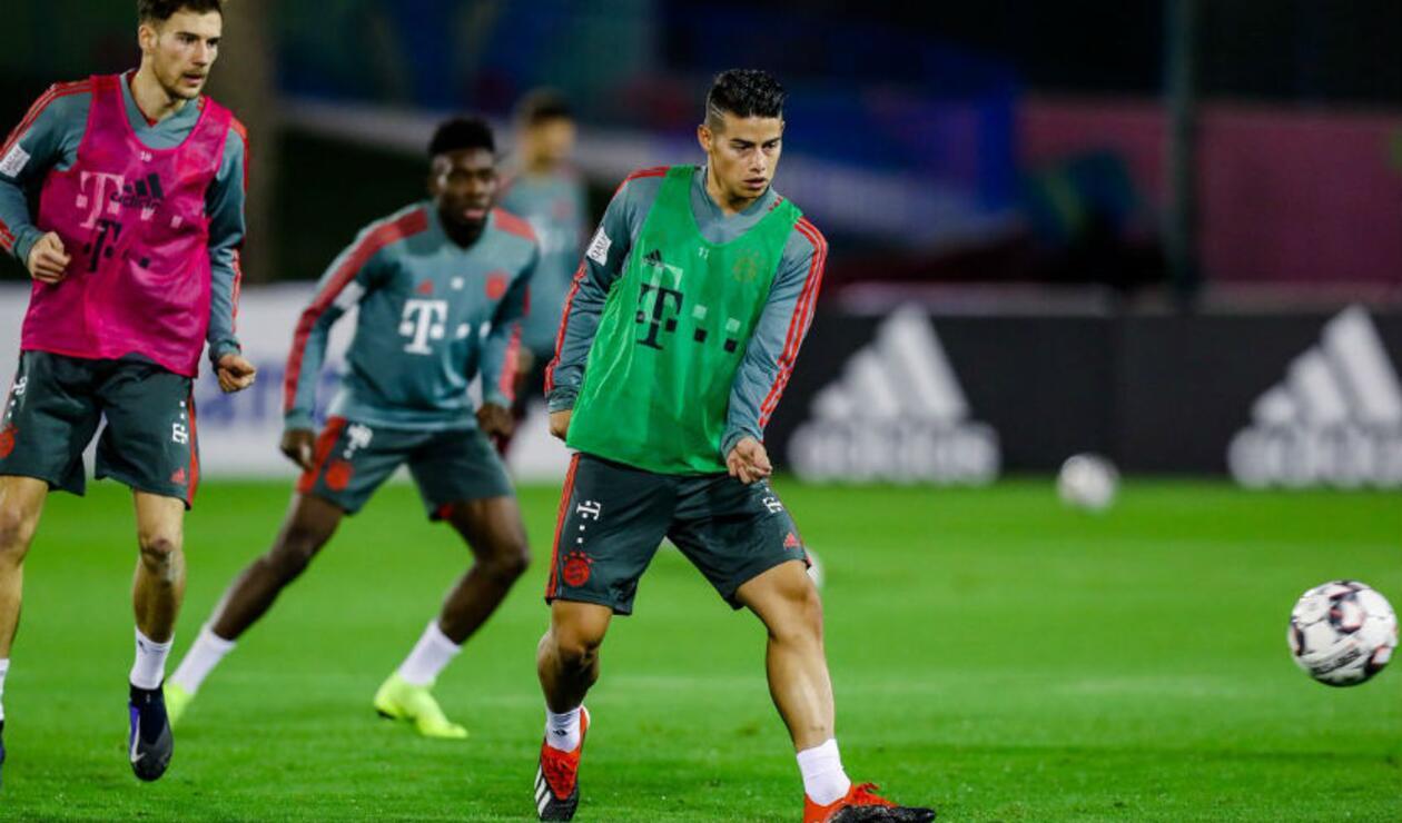 James en Bayern Münich