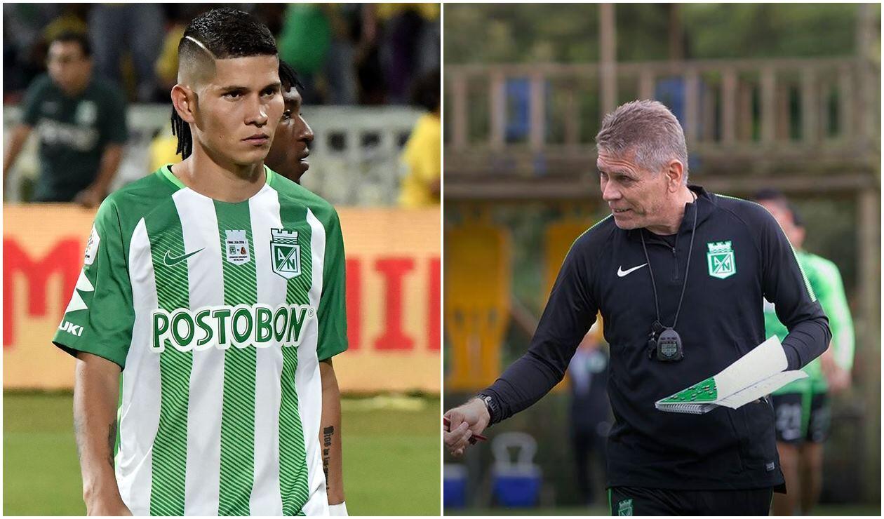 Jorman Campuzano y Paulo Autuori