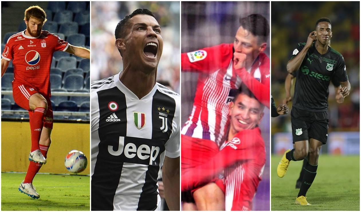América, Juventus, Atlético y Cali