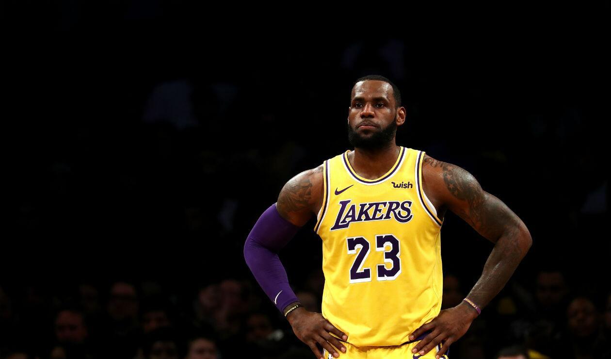 LeBron James, de Los Angeles Laker
