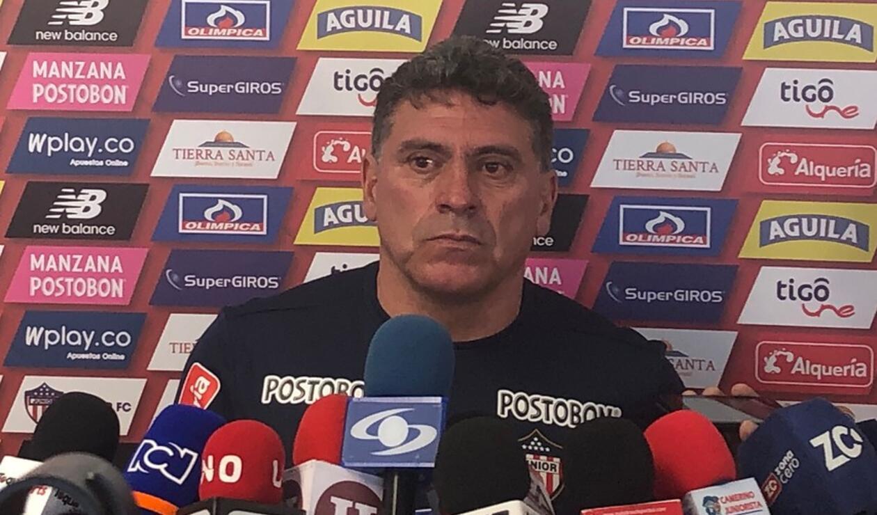 Luis Fernando Suárez, DT del Junior de Barranquilla