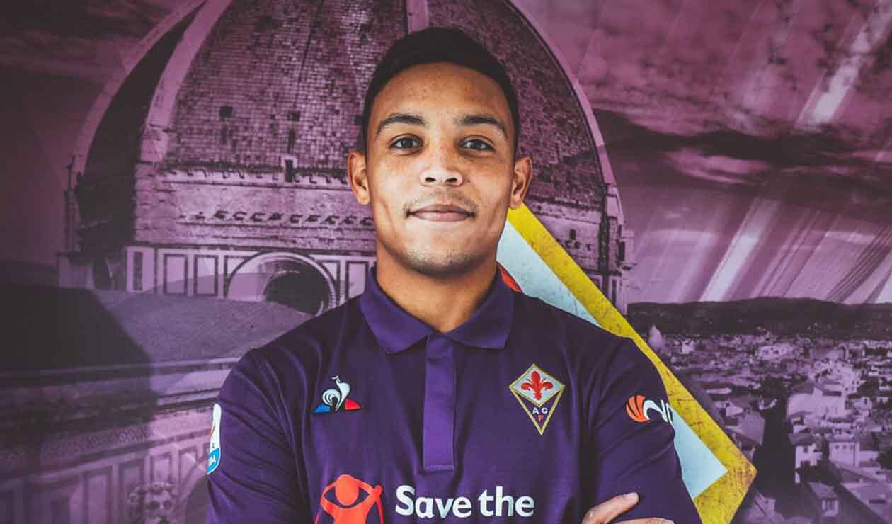 Luis Fernando Muriel, nuevo jugador de Fiorentina