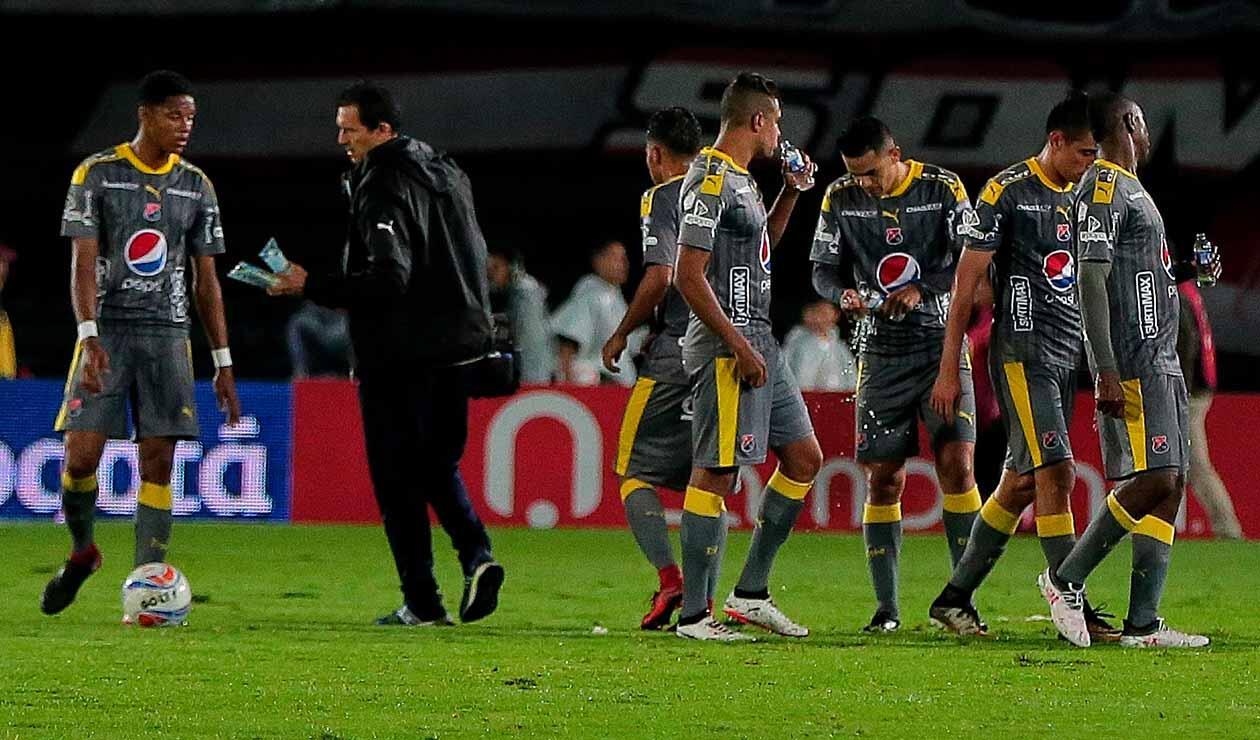 Medellín pierde en su debut en la Liga Águila ante Patriotas