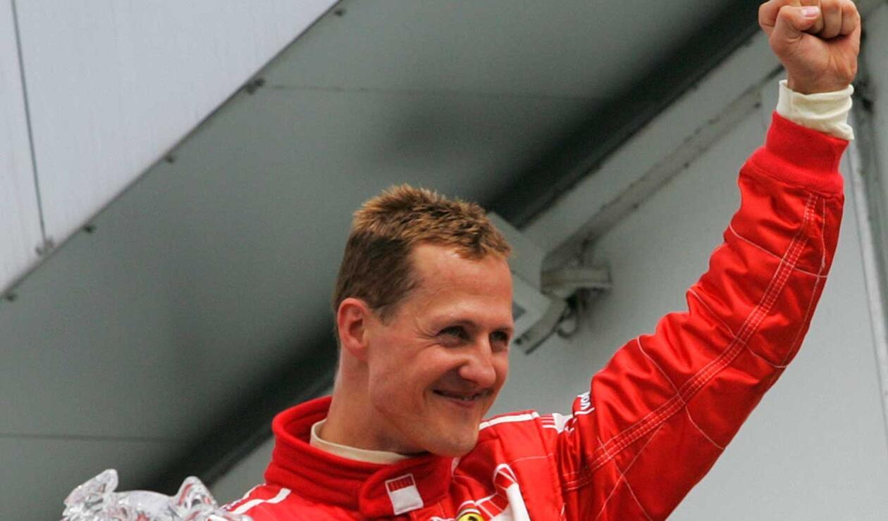 Michael Schumacher, siete veces campeón mundial de la Fórmula Uno