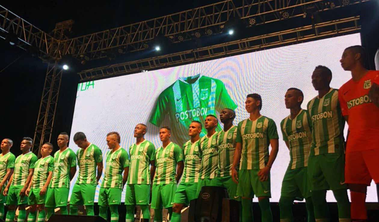 Atlético Nacional presentó oficialmente su uniforme