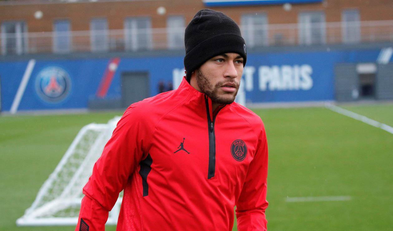 Neymar, delantero del PSG