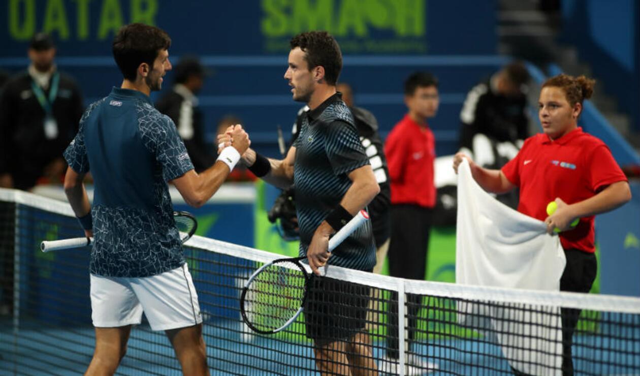 Novak Djokovic perdió con Roberto Bautista