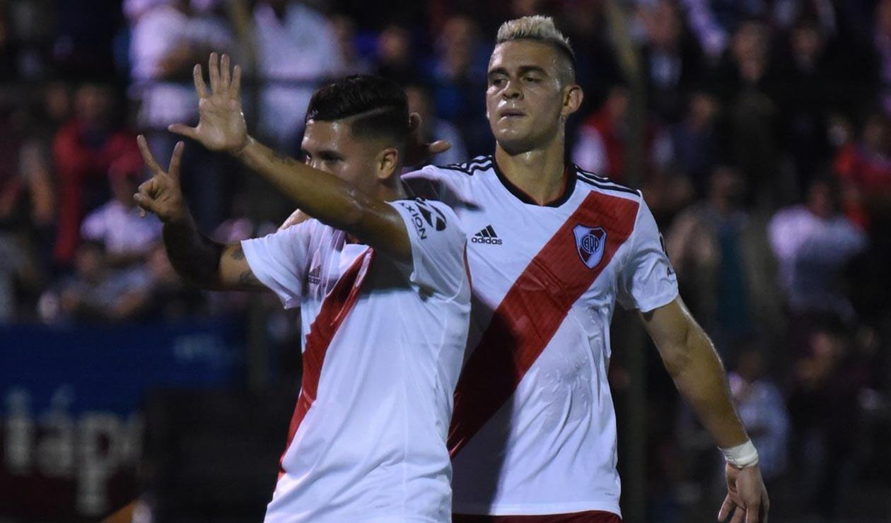 Juan Fernando Quintero y Rafael Santos Borré
