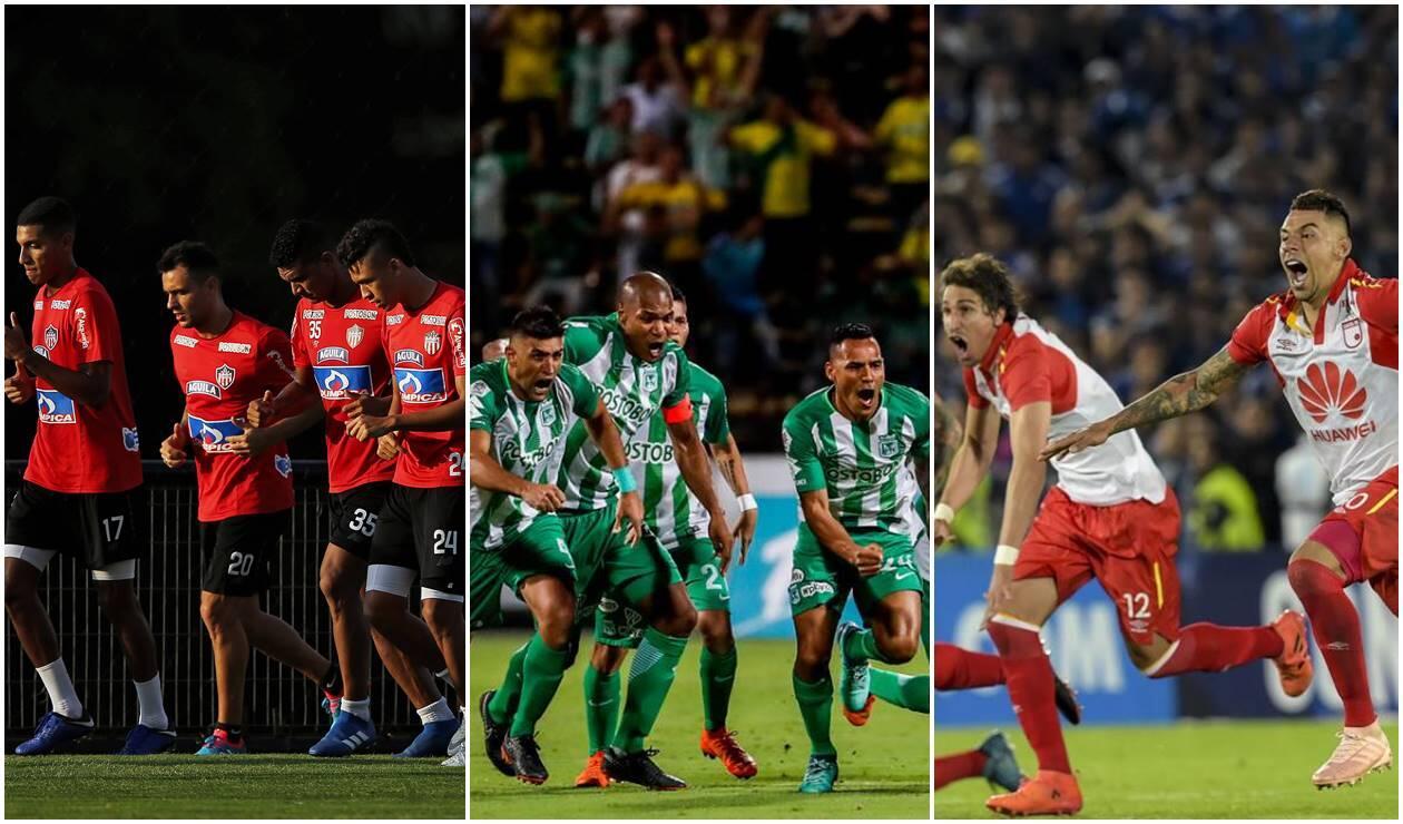 Junior, Nacional y Santa Fe, los tres mejores de Colombia en el ránking mundial de clubes
