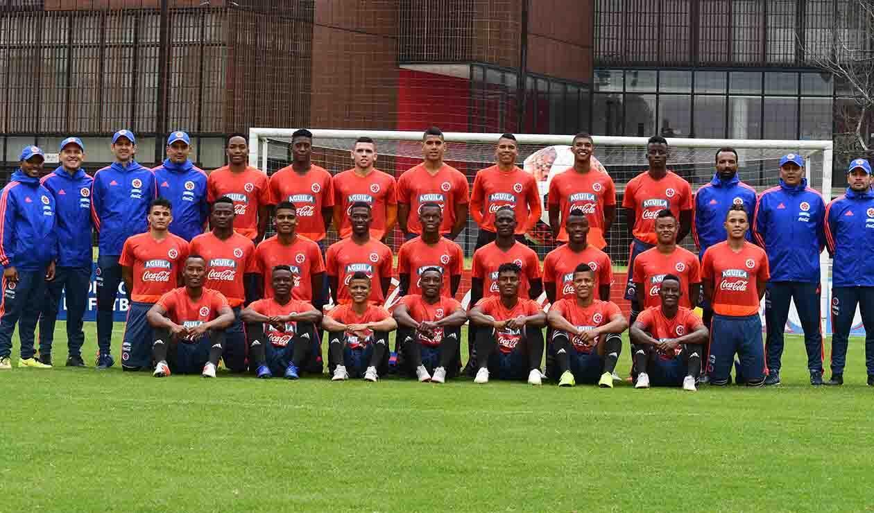 Selección Colombia Sub-20 - equipo formado