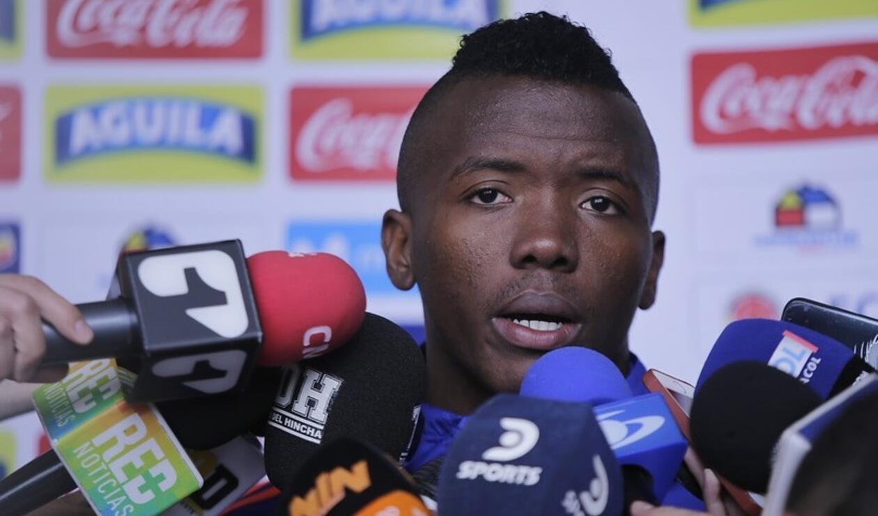 Jugador colombiano Yeison Tolosa