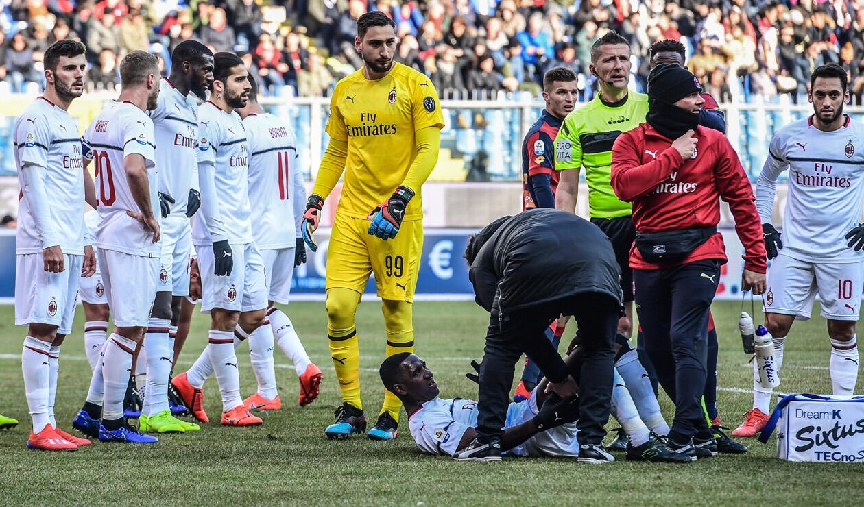 LesionóAntena Zapata Milan 2 GanóPero Se Cristian Ac E2ID9H
