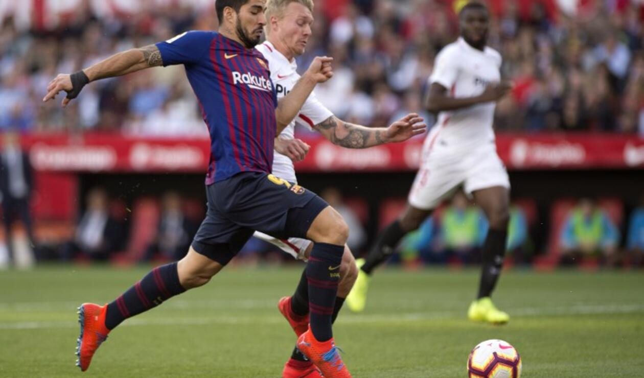 Sevilla vs Barcelona, Liga Española