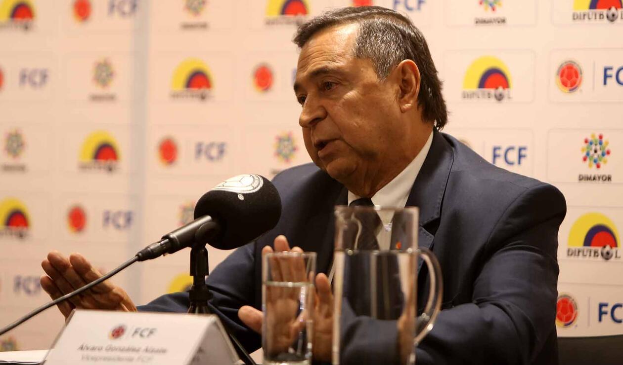 Álvaro González, vicepresidente Federación Colombiana de Fútbol