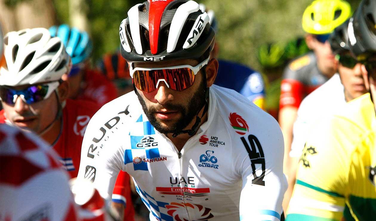 Fernando Gaviria, el líder del UAE Emirates en el Tour Colombia