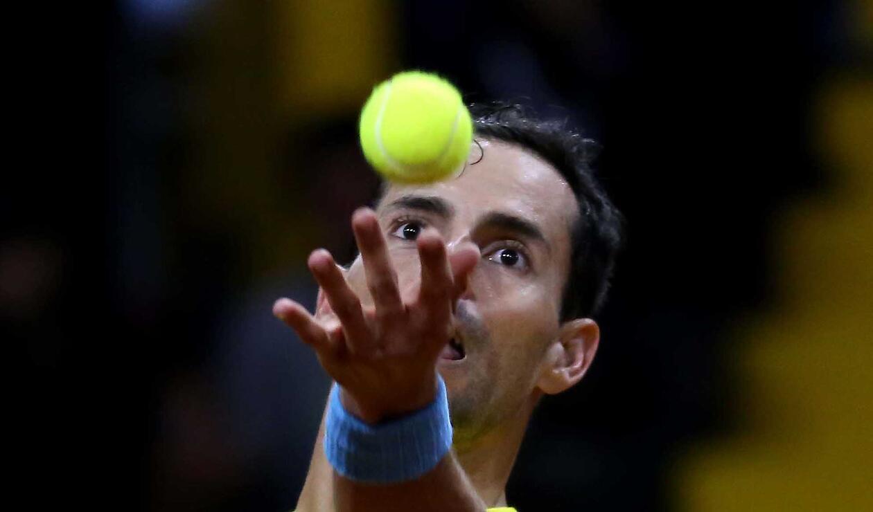 Santiago Giraldo le dio el primer punto a Colombia en la Copa Davis