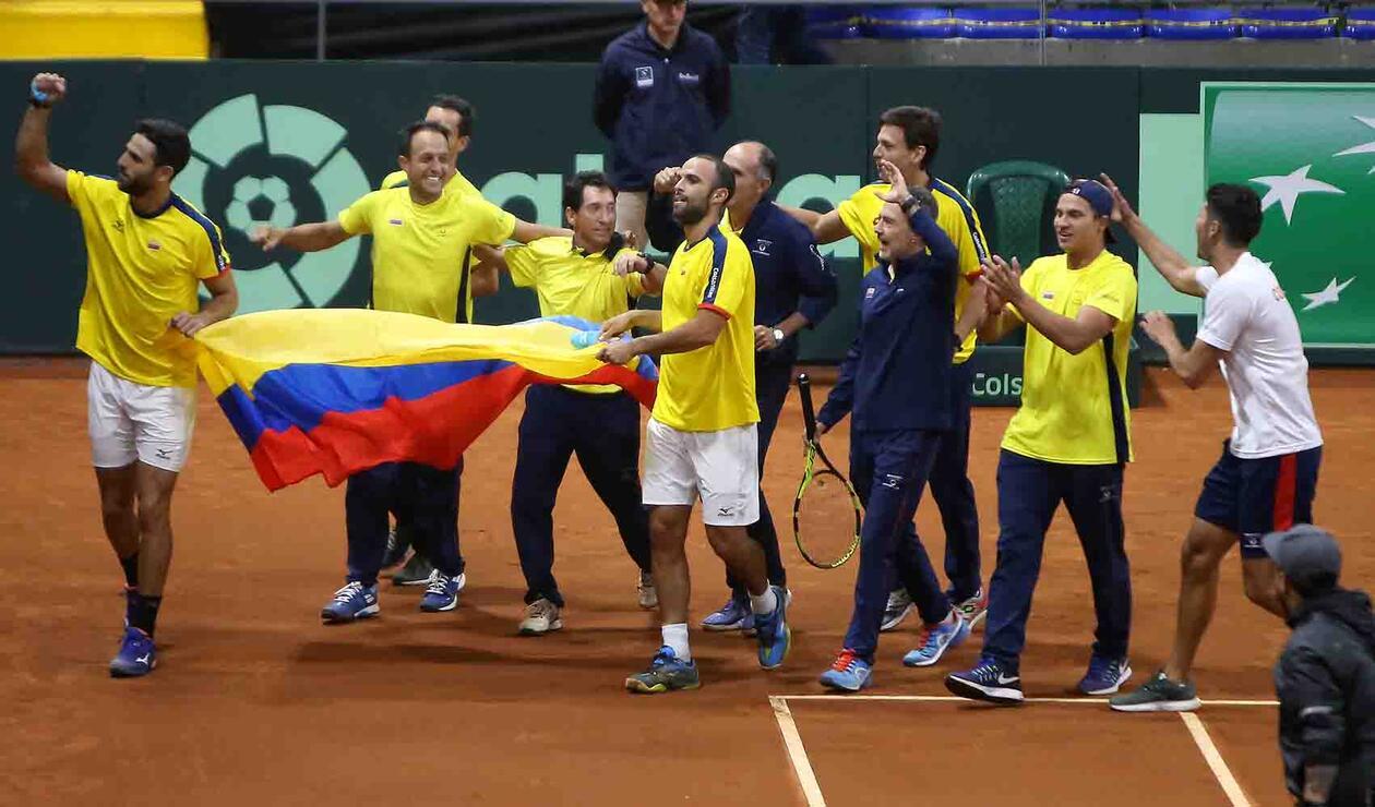 Colombia estará en la fase final de la Copa Davis