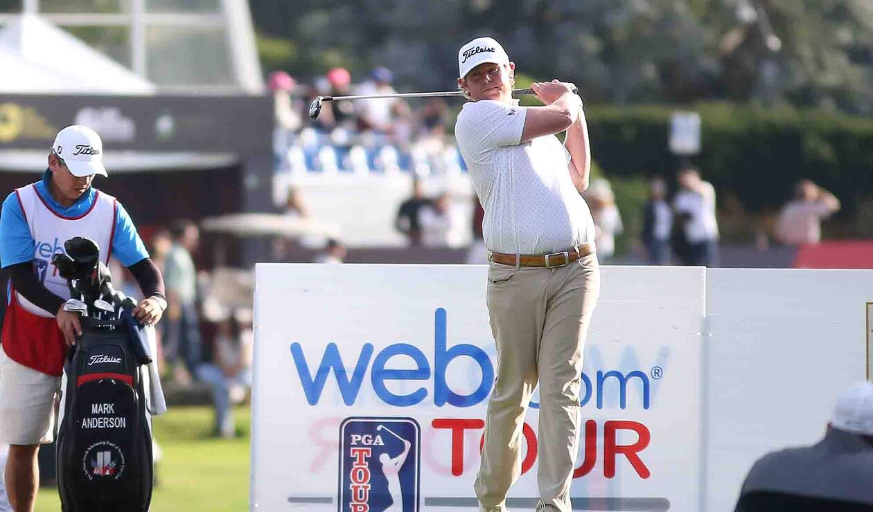 Mark Anderson, golfista estadounidense