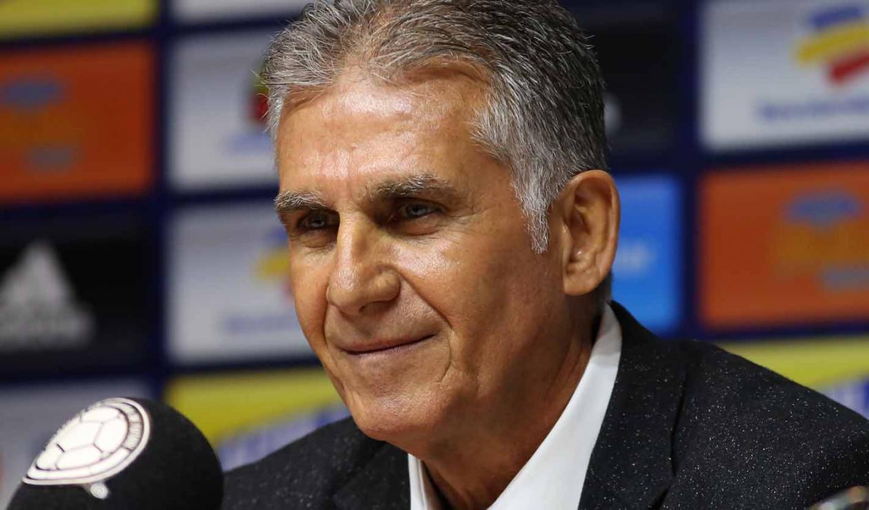 Carlos Queiroz es el nuevo técnico de la 'Tricolor' para el cuatrienio que desembocará en la Copa Mundial de Fútbol Catar 2022.
