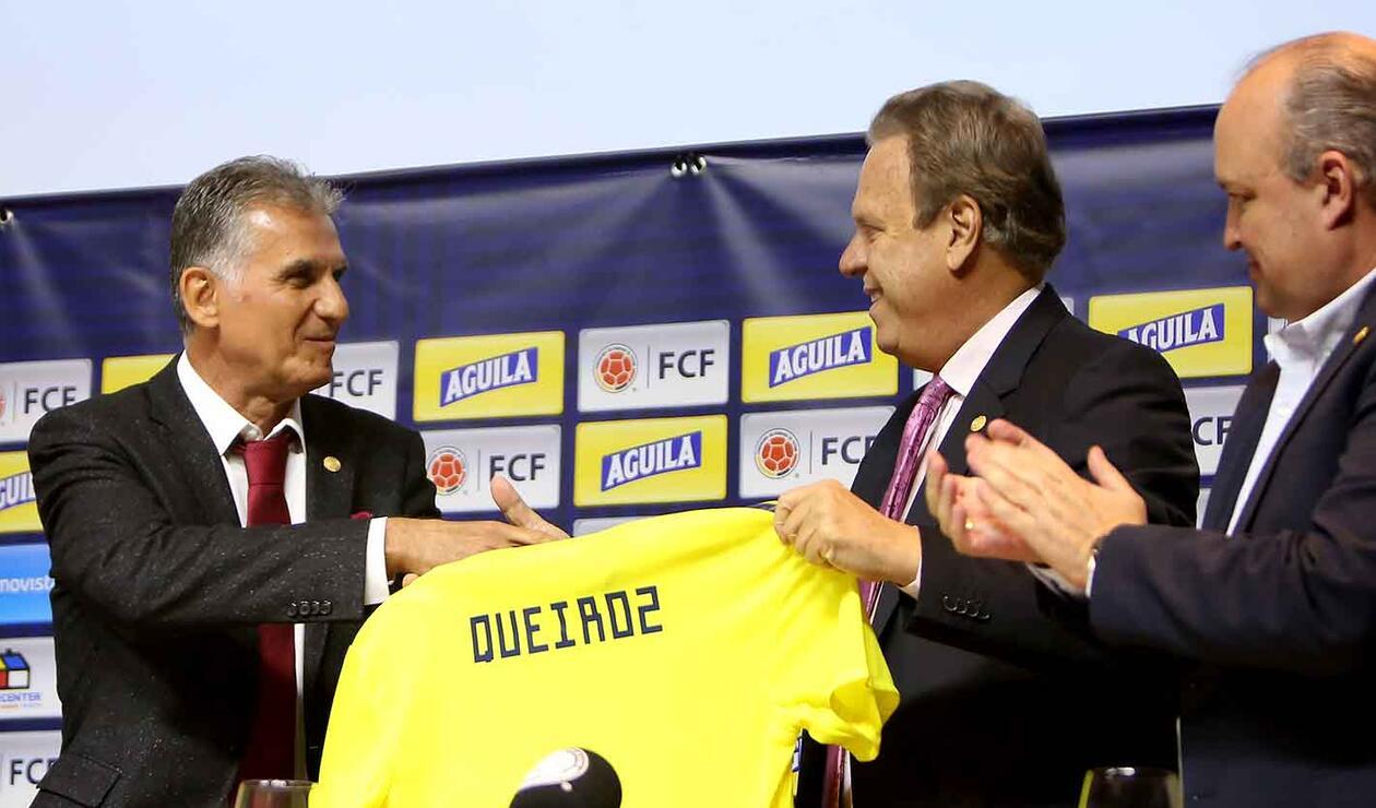 Queiroz reconoció que ya comenzó a tener contactos con algunos jugadores del combinado colombiano