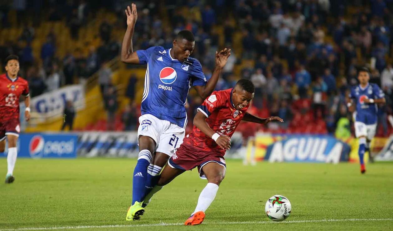 Millonarios vs Fortaleza - Copa Águila 2019
