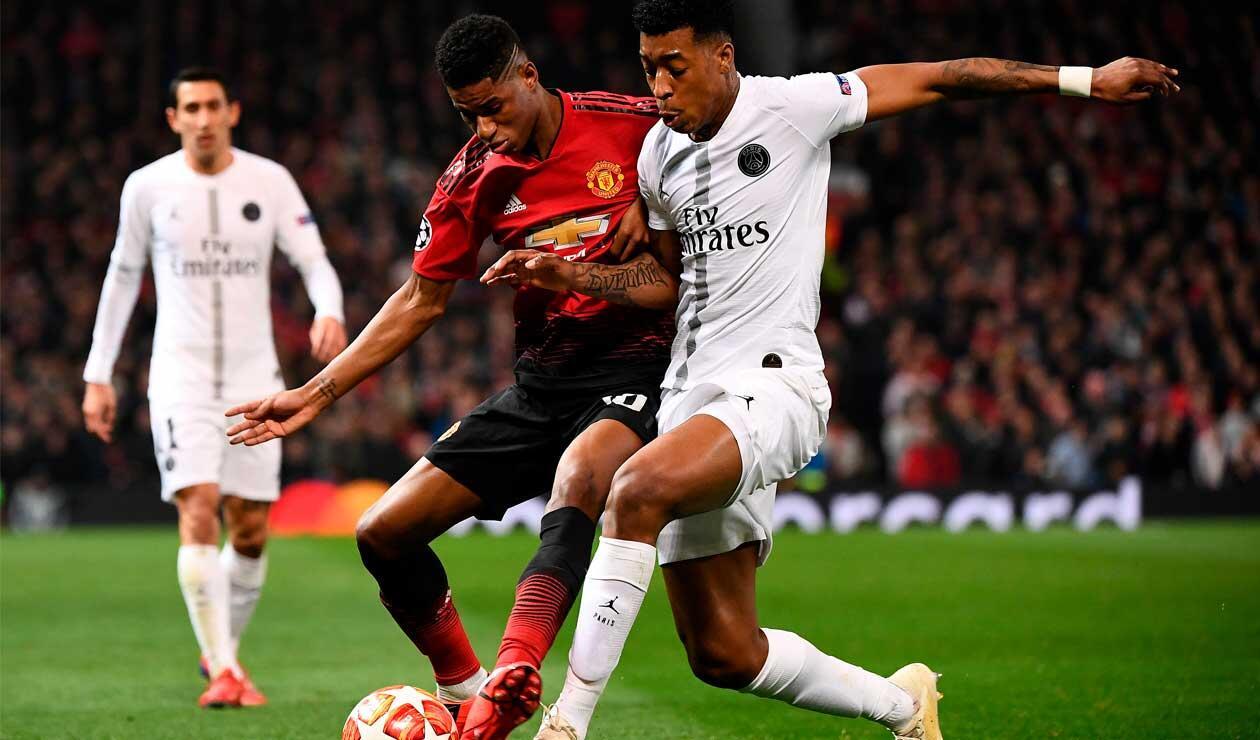 Manchester United Vs PSG, uno de los partidos destacados de los octavos de final en la Champions.