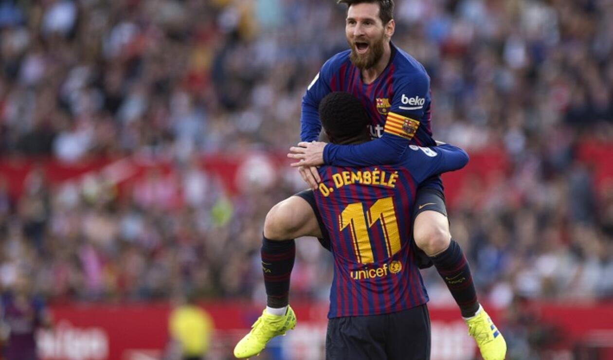 Lionel Messi - Barcelona vs Sevilla, Liga Española