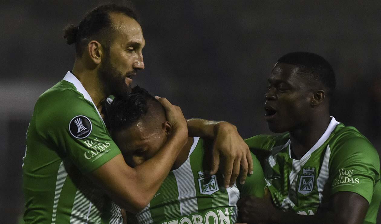 Atlético Nacional en su debut en la Copa Libertadores