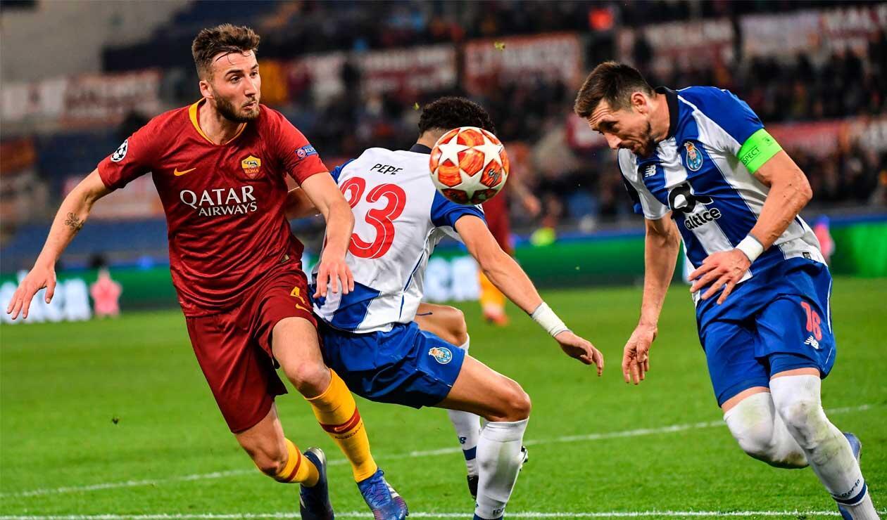 Porto y Roma abrieron la fase de octavos en la Champions League