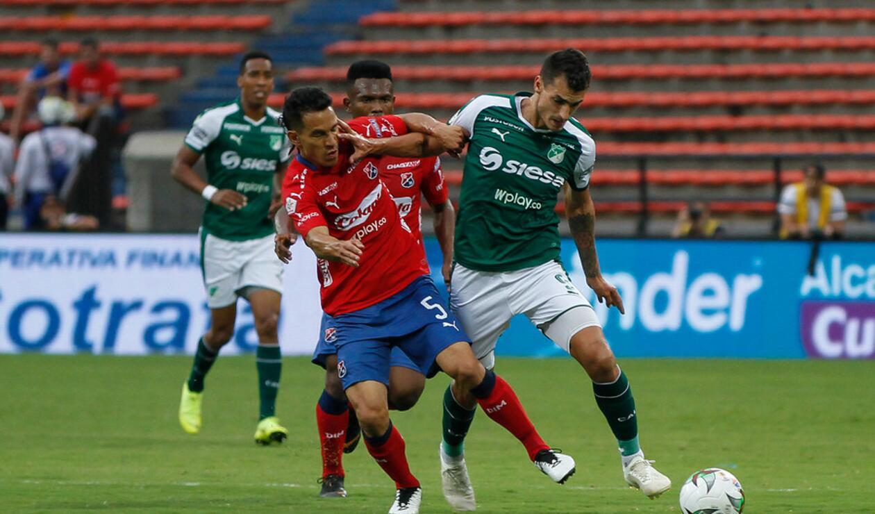 Independiente Vs Deportivo Cali en partido válido por la fecha 6 de la Liga Águila