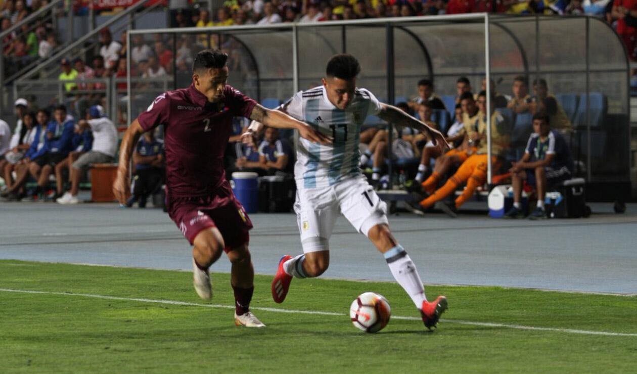 Argentina vs Venezuela - Sudamericano Sub 20