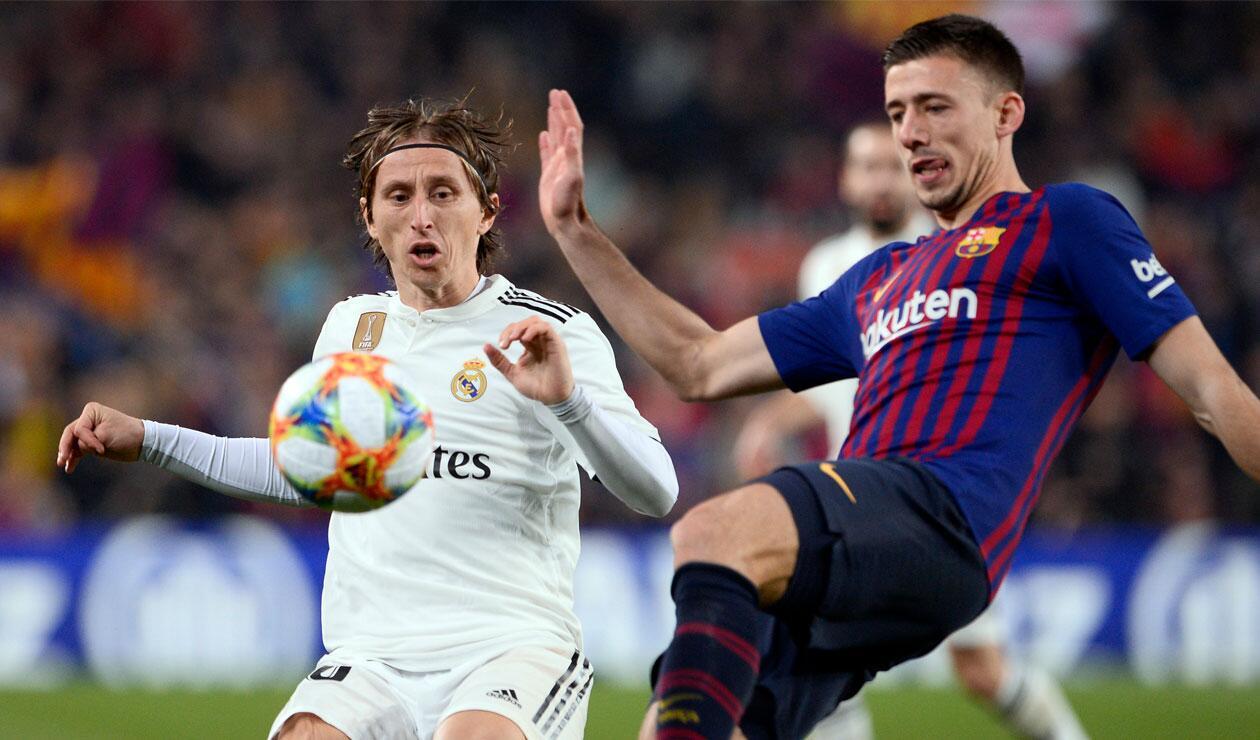 Real Madrid y Barcelona, una batalla que se repetirá el sábado por la Liga Águila