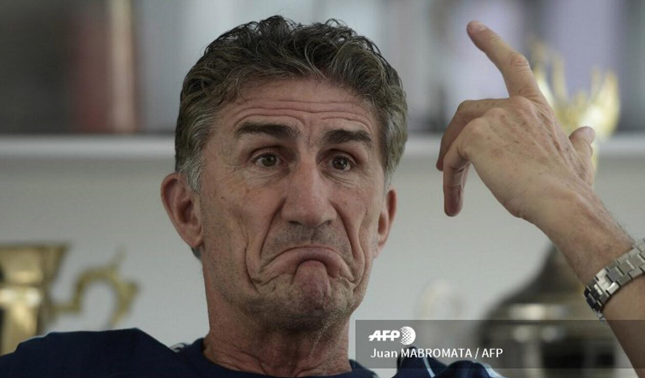 Edgardo Bauza, técnico de Rosario Central