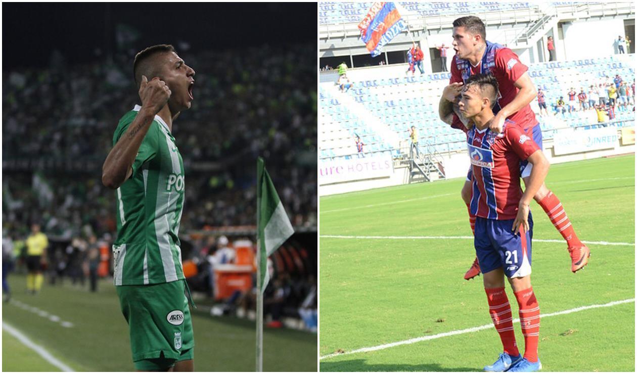 Atlético Nacional vs Unión Magdalena