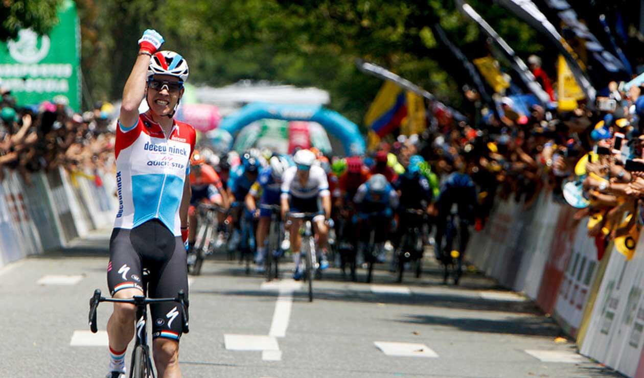 Bob Jungels ganó la cuarta etapa y es el nuevo líder Tour Colombia 2.1