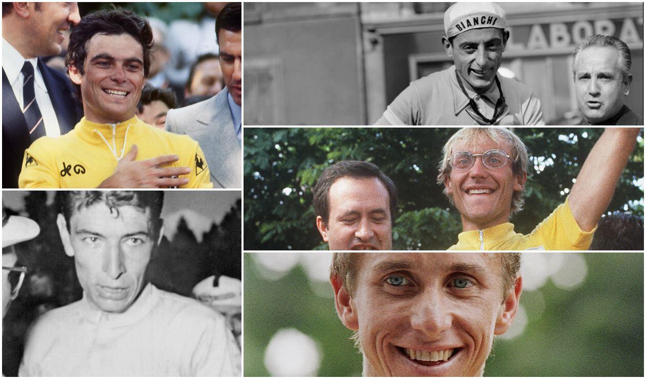 Campeones del Tour de Francia en Colombia