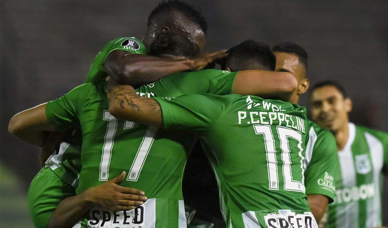 Atlético Nacional avanzó en la Copa Libertadores, tras derrotar a La Guaira
