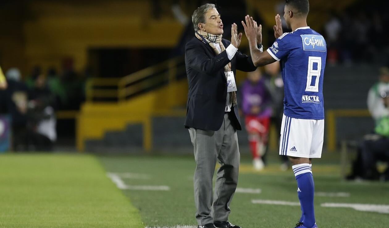 Jorge Luis Pinto y César Carrillo