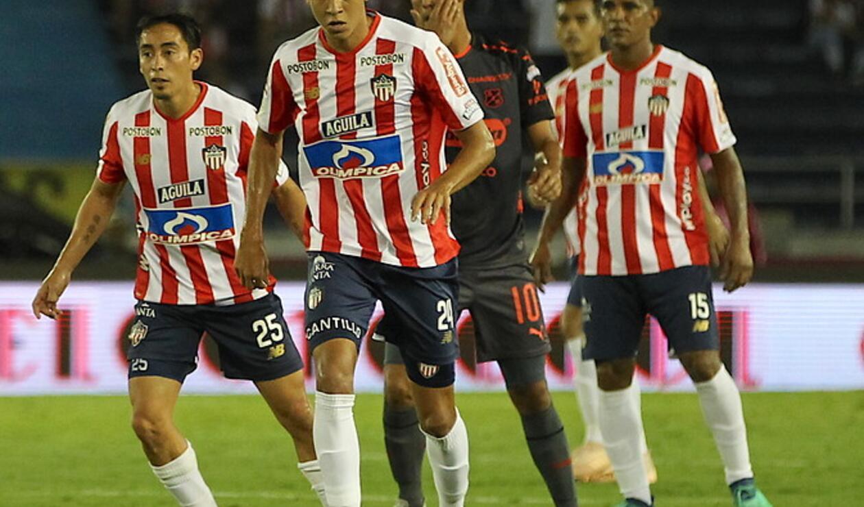 Junior de Barranquilla y el Medellín protagonizaron un partidazo en el Metropolitano