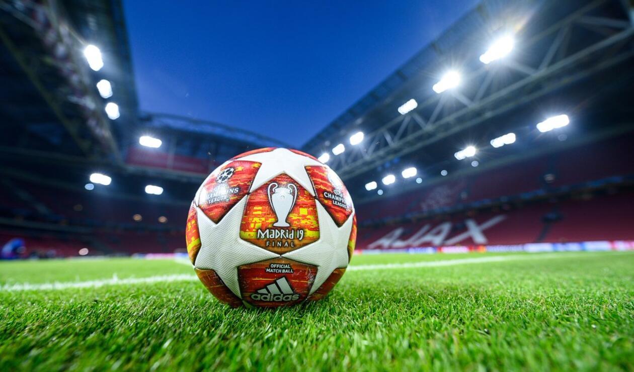 El balón de la Champions 18-19, cuya final se jugará en el Wanda Metropolitano de Madrid