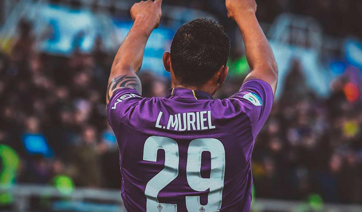 Muriel había marcado tres goles en los anteriores partidos de la Fiorentina
