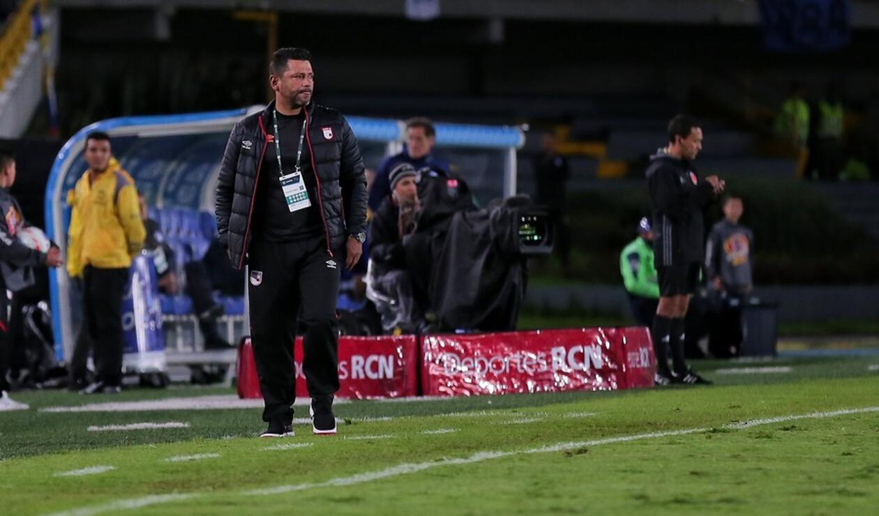 Gerardo Bedoya, DT de Independiente Santa Fe